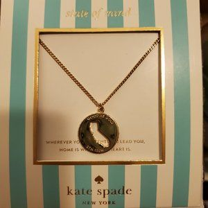 KATE SPADE State of Mind - CA Necklace Gold